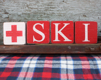 Red Cross clipart ski patrol Ski Ski patrol Red signs