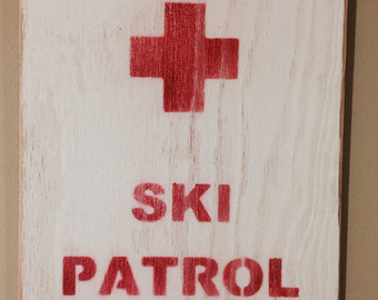 Red Cross clipart ski patrol