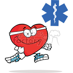 Red Cross clipart svg Red GraphicsFactory Running Red Running