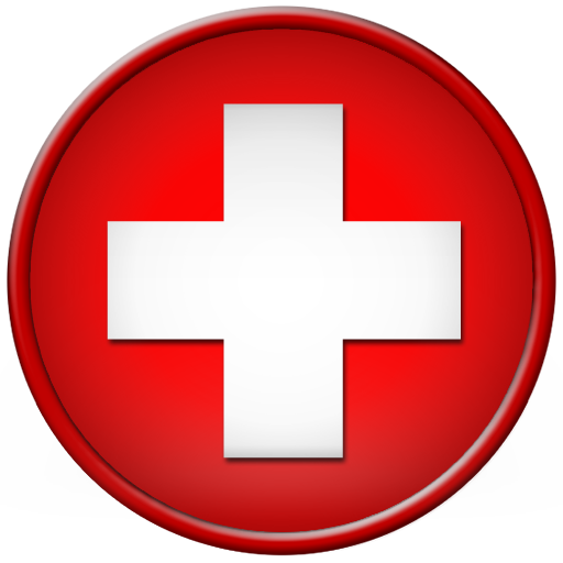Red Cross clipart transparent Round net symbol ipharmd Round