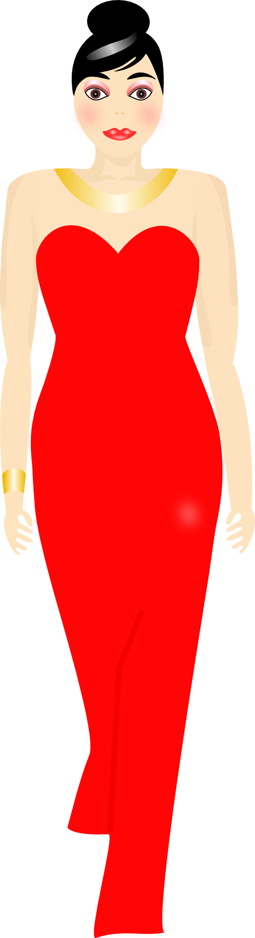 Red Dress clipart Clipart Red Free Dress Clipart