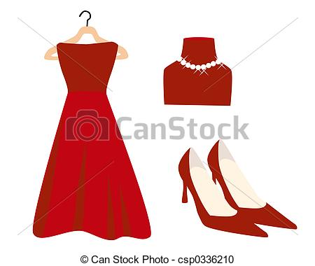 Red Dress clipart Red Clipart images Red Dress