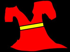 Red Dress clipart  com Red Clip Art