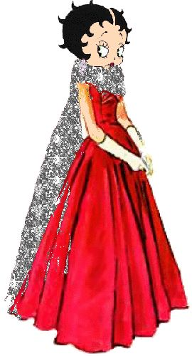 Red Dress clipart animation Boop images Betty on Pinterest