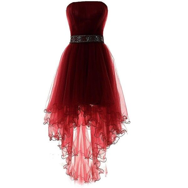 Red Dress clipart ball gown Ideas low Red ❤ on