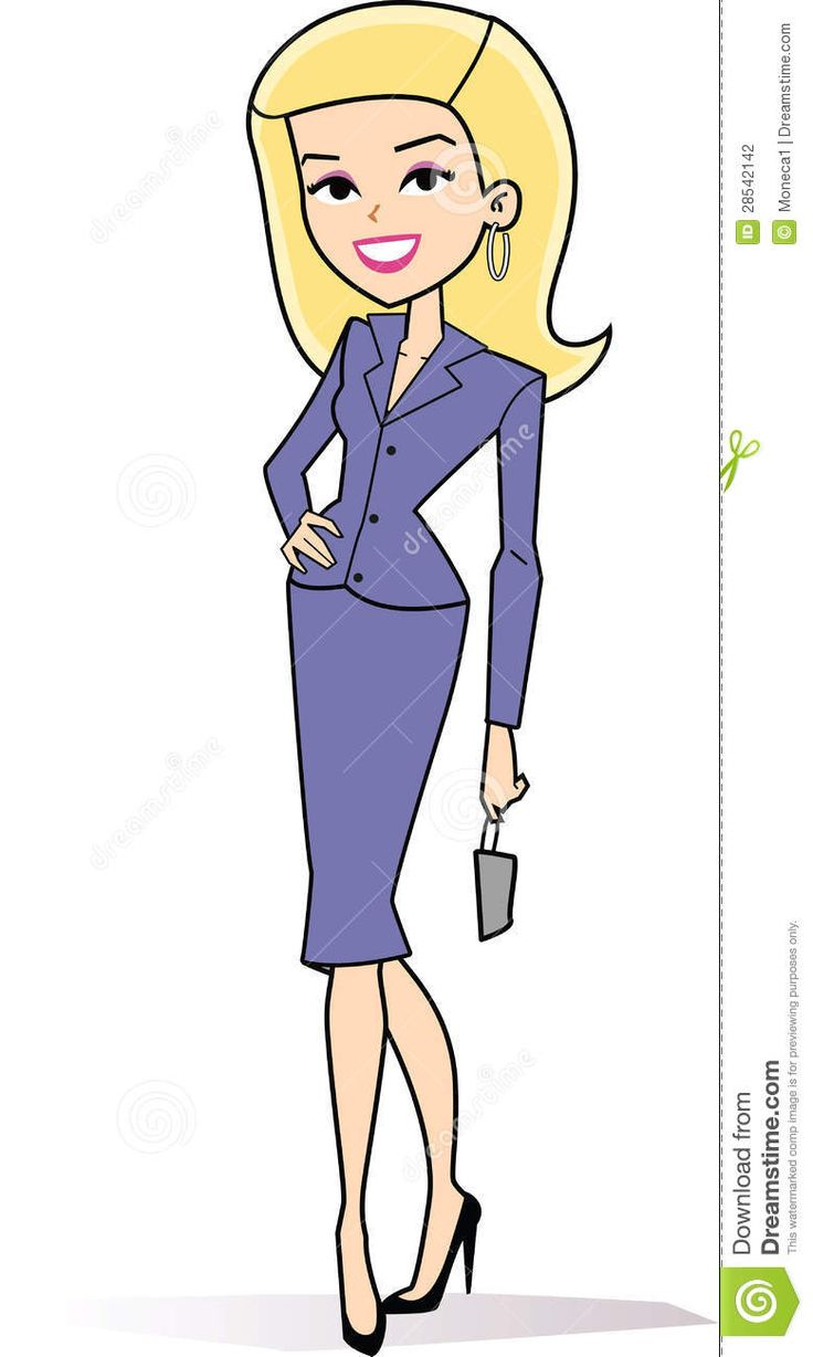 Blonde clipart cartoon Best art Stock style Cartoon