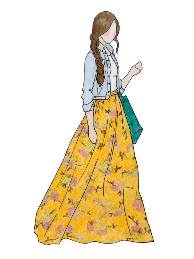 Yellow Dress clipart drees Drees :)  Clothes and