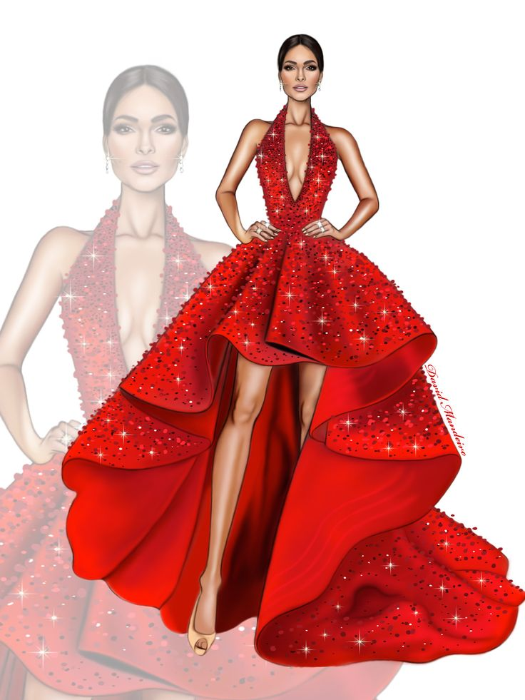 Red Dress clipart drees 25+ sketches on this ideas