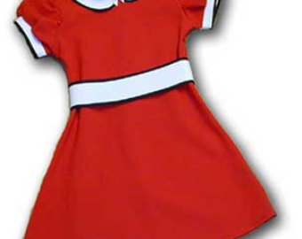 Red Dress clipart for kid #2