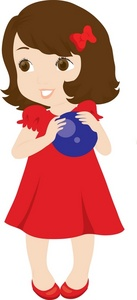 Red Dress clipart for kid #1
