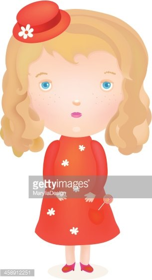 Red Dress clipart gril Dress dress stock IN vectors