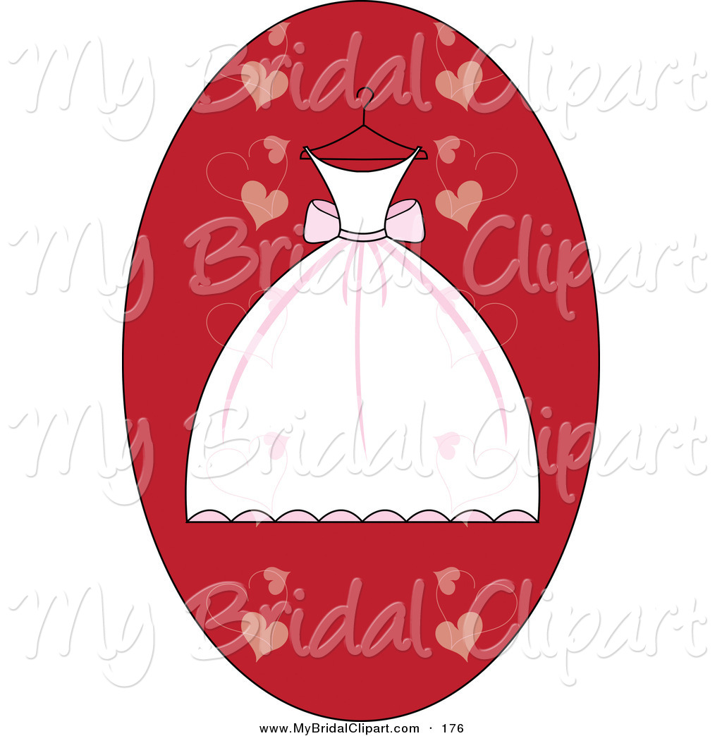 White Dress clipart hanger clipart Clipart Red Heart Dress Download