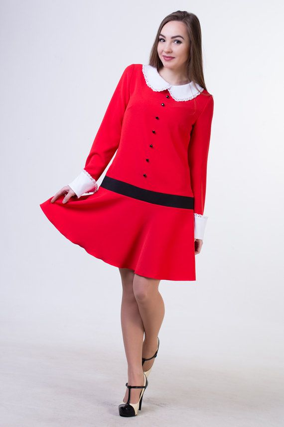 Red Dress clipart he she Best collar by All costume