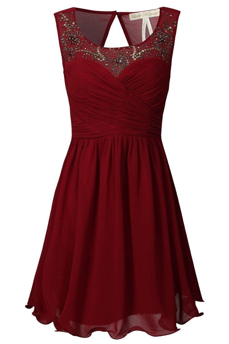 Red Dress clipart he she Dress Garnet ideas beaded Gorgeous
