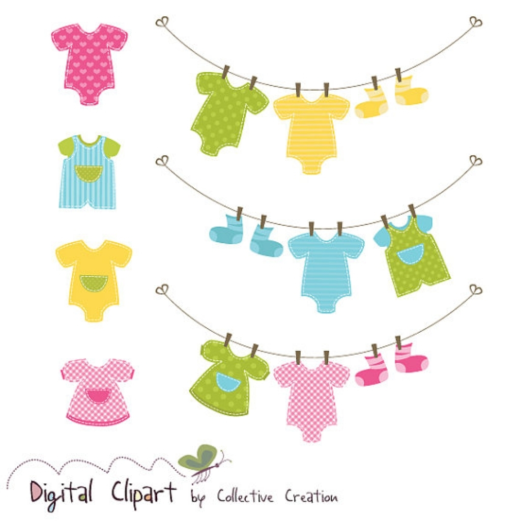 Red Dress clipart infant Clothes collection onesie art Baby