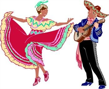 Traditional clipart mexican dancer Clipart Kid Dance clipart Clipart