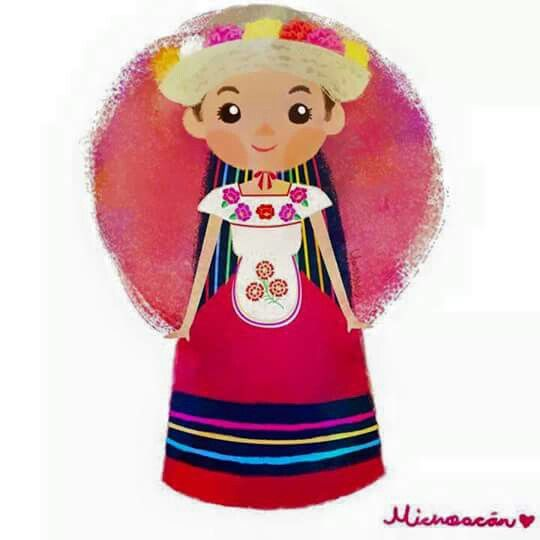 Red Dress clipart mexican dress MEXICAN best images on Pinterest