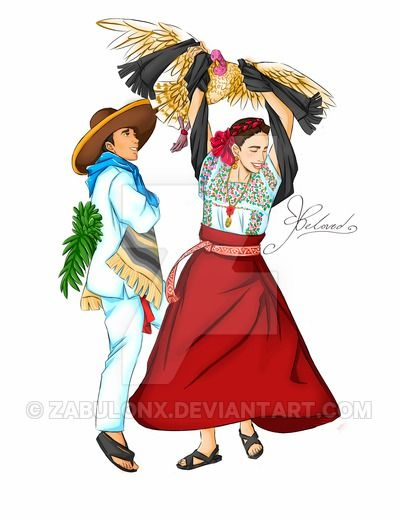 Red Dress clipart mexican dress Pinterest images Cune y dress