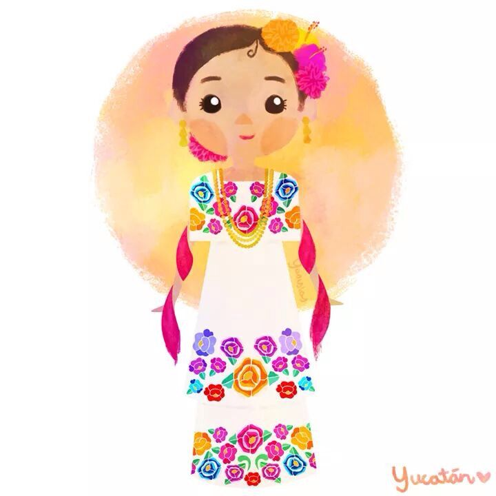 Red Dress clipart mexican dress Collection about images Mexican dress