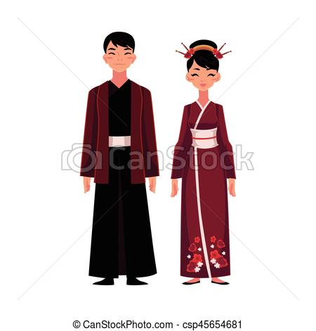 Red Dress clipart robe Jacket dress with with dress