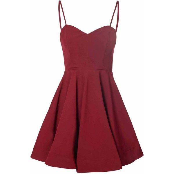 Red Dress clipart short dress Best Polyvore dress skirt fashion