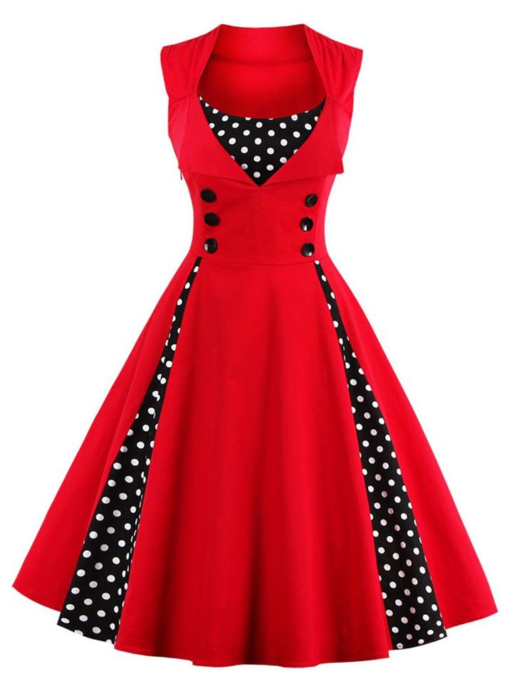 Red Dress clipart vestido Embelezado about on bolinhas Pinterest