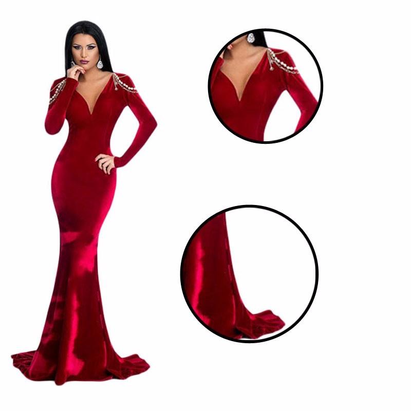 Red Dress clipart vestido Inverno de comprando Noite Vestido