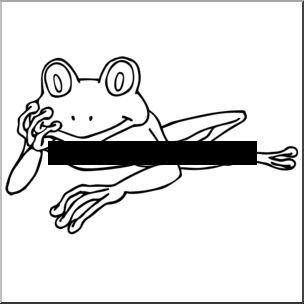Tree Frog clipart red eyed tree frog #6