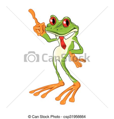 Red Eyed Tree Frog clipart cartoon #4