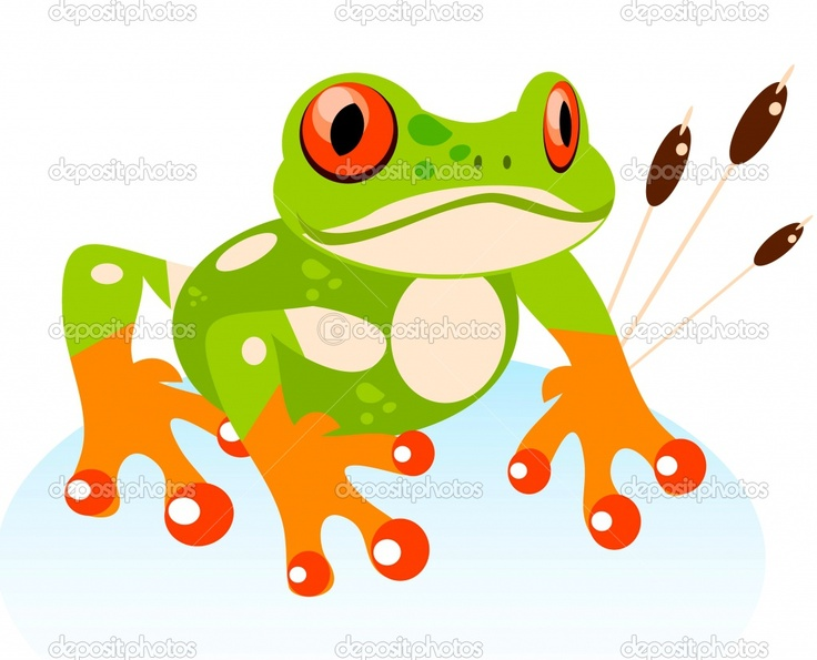 Red Eyed Tree Frog clipart cartoon #2