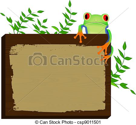 Red Eyed Tree Frog clipart cartoon #3