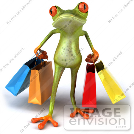 Red Eyed Tree Frog clipart colorful frog #3