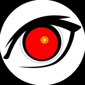 Red Eyes clipart Clker clip Art Clip Art