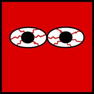 Red Eyes clipart #9