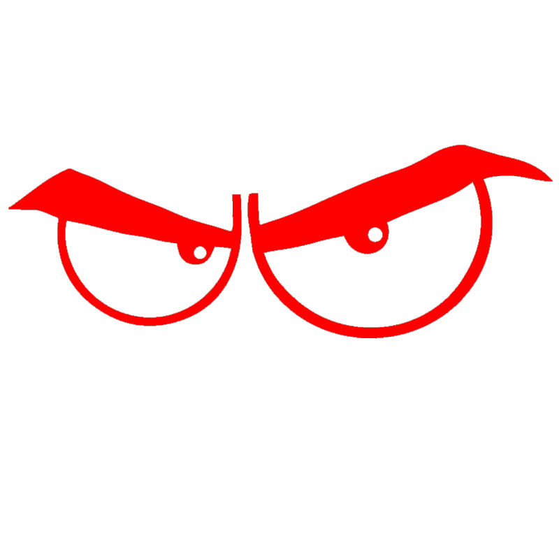 Red Eyes clipart anger #11
