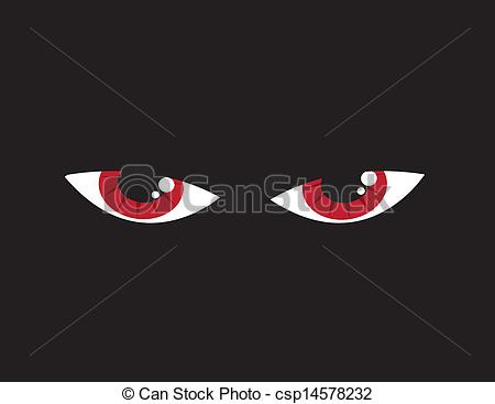 Red Eyes clipart anger #2