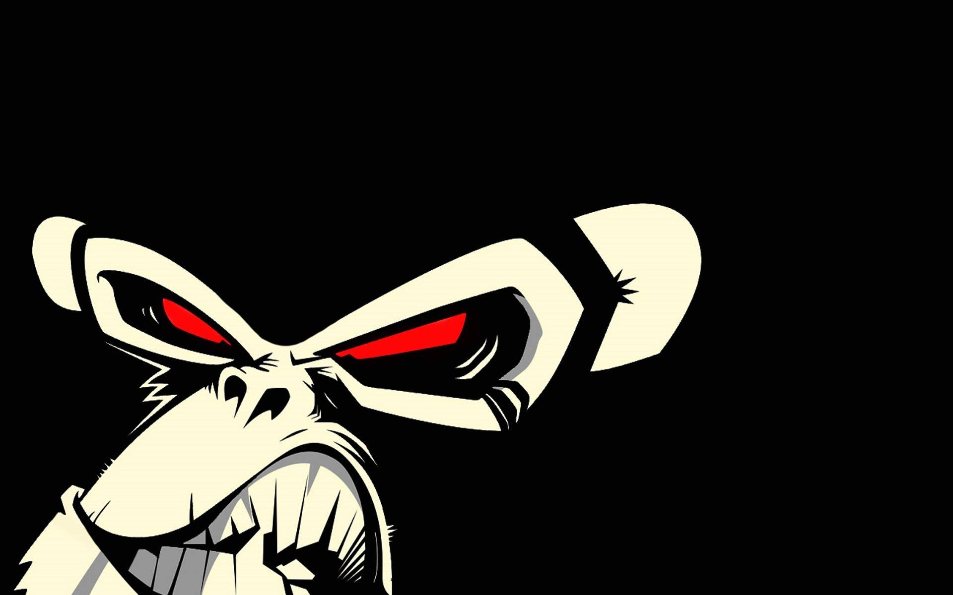 Red Eyes clipart anger #12