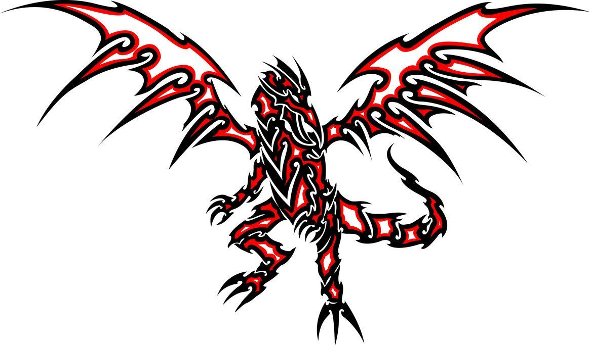 Red Eyes clipart dragon red #8