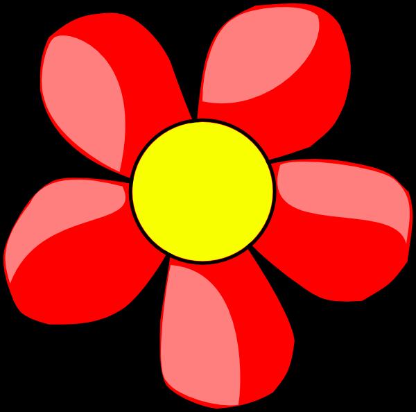 Red Flower clipart Art  Clip royalty Clker