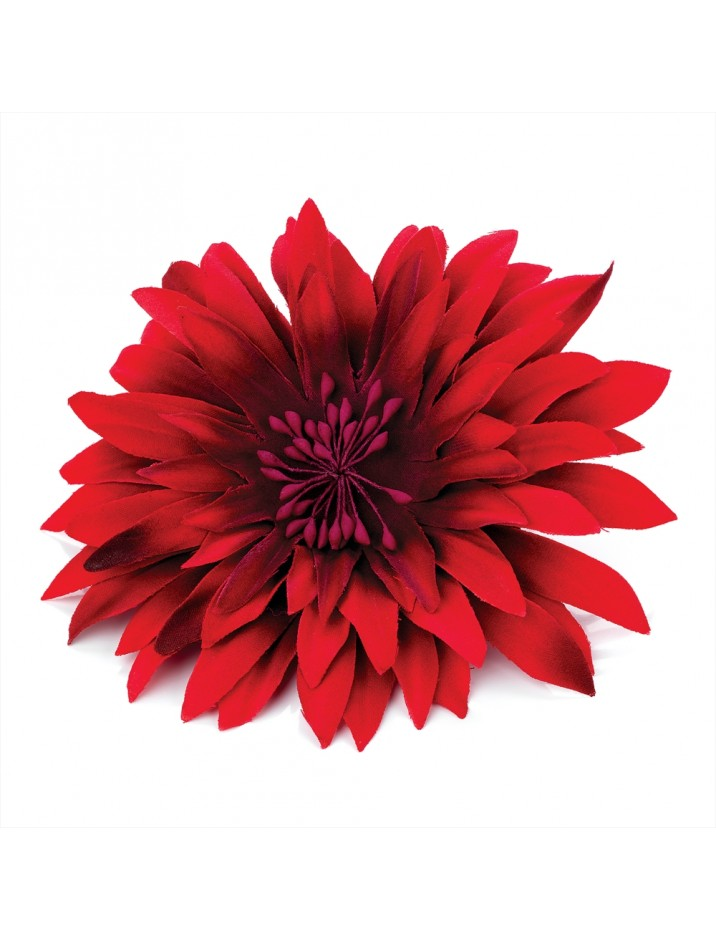 Red Flower clipart flower head RED Free Clip Art ACCESSORIES