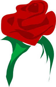 Red Flower clipart r0se #8
