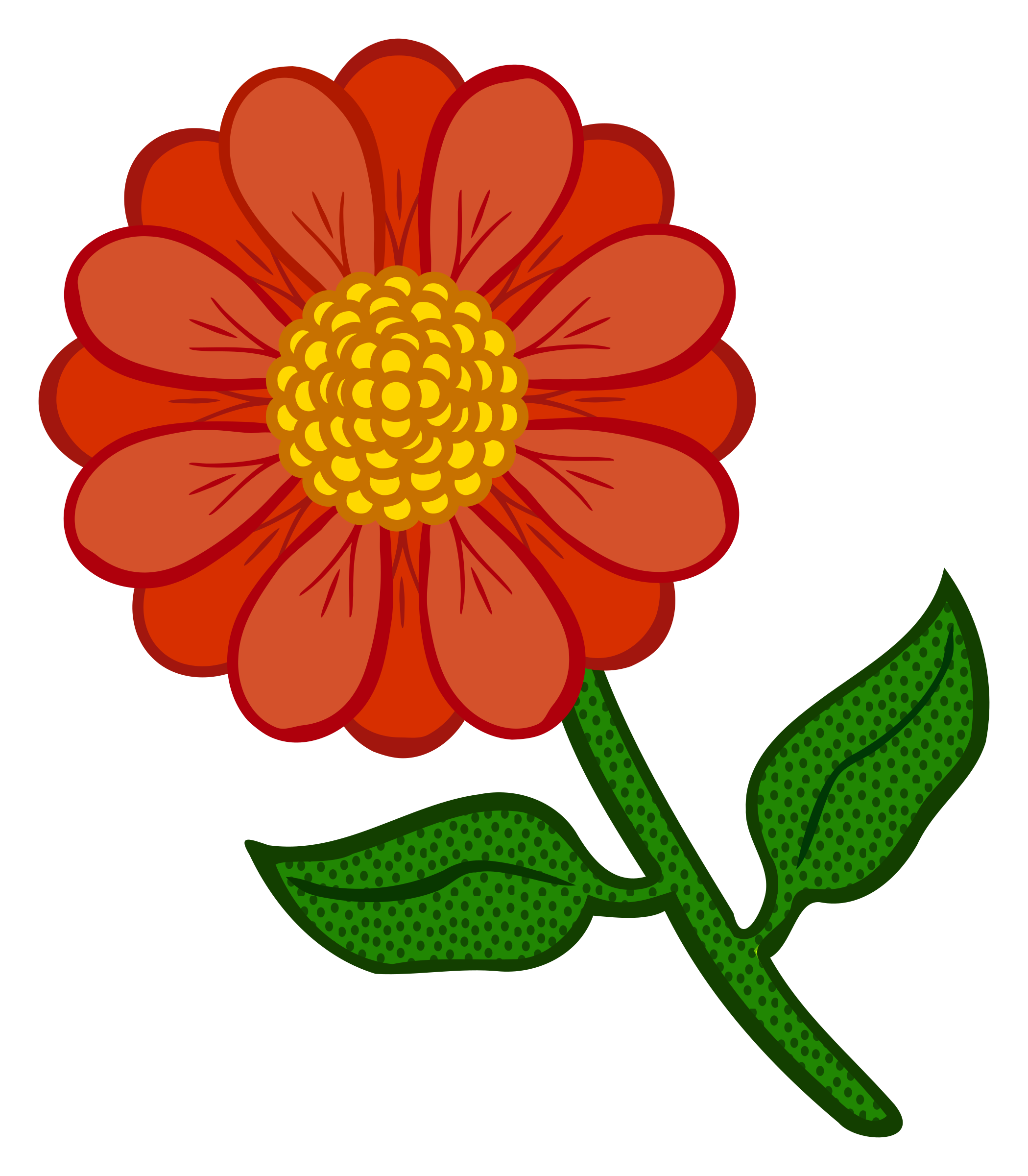 Petal clipart colourful flower Flower flower coloured Clipart coloured