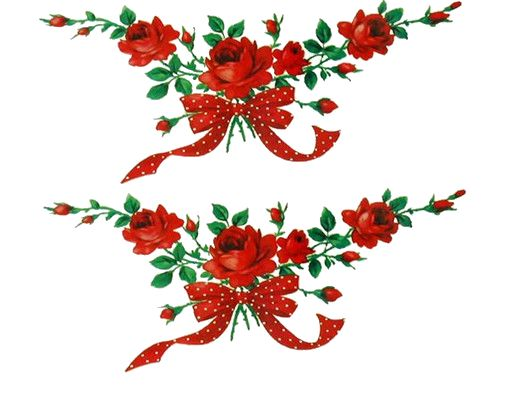 Red Flower clipart swag Best on images 190 ROSAS