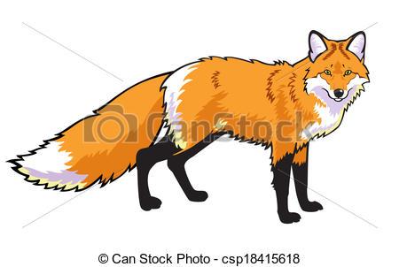 Illustration clipart fox Top Red Fox 9 75