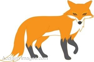 Red Fox clipart Fox Red Clipart Panda Art