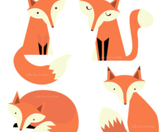 Red Fox clipart angry #7