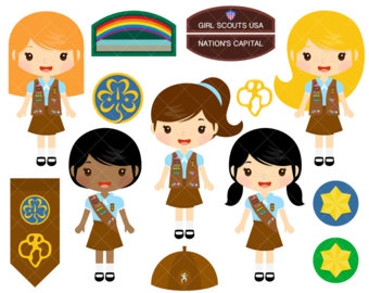 Brownie clipart scout Place Your Girl to sell
