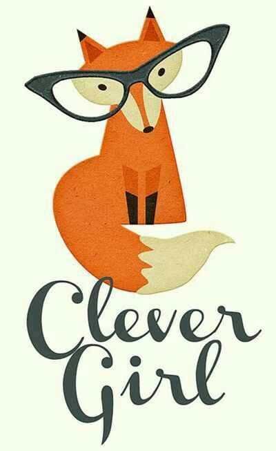Red Fox clipart clever #3