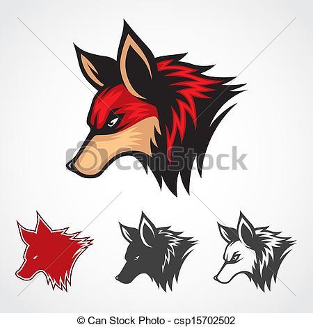 Red Fox clipart fox head #13