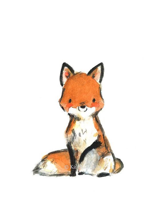 Red Fox clipart guides #8